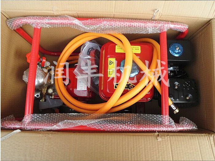 拉管式高压喷雾器 润丰便携式喷雾器 大面积打药机