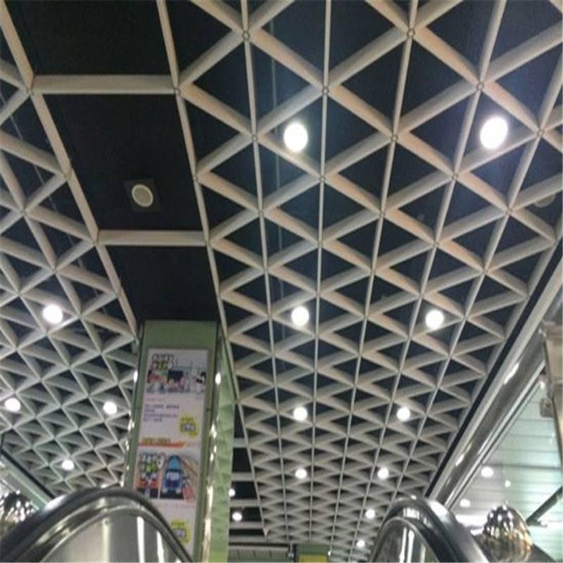 广东德普龙优质三角形铝合金格栅安装简单厂家特卖