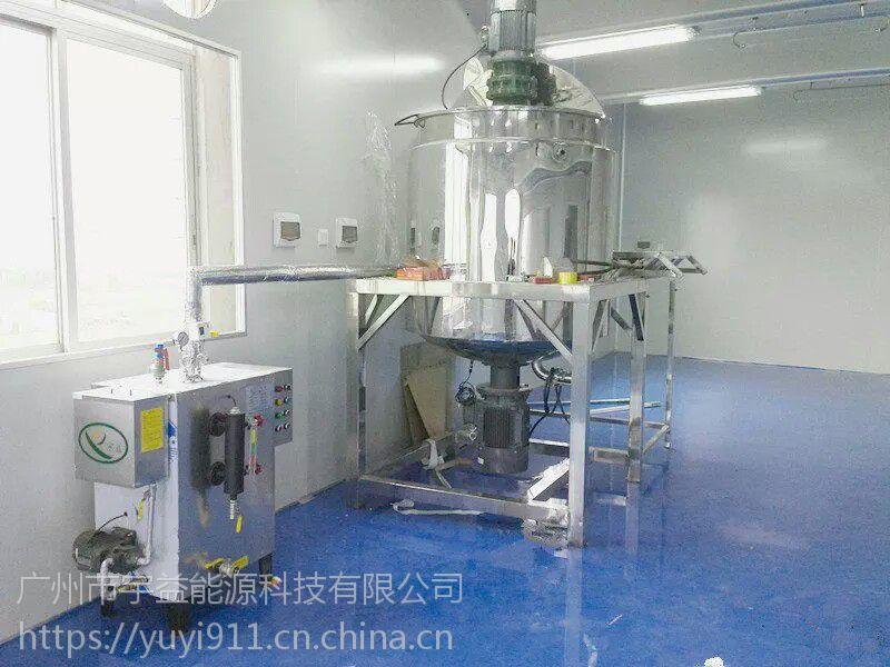 宇益牌蒸汽发生器 全自动 36千瓦电加热蒸汽锅炉 食品夹层锅炉配套使用设备