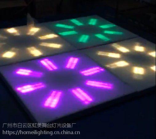 新款100x100cm 可走图案亚克力跳舞地板砖