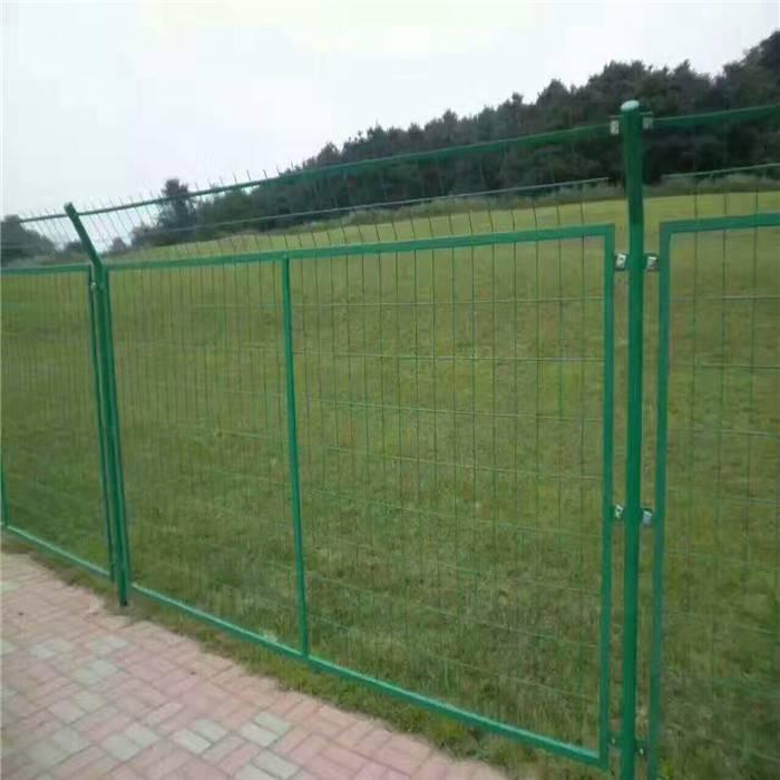 工地安全围栏网 公路隔离栅护栏 框架铁丝护栏网