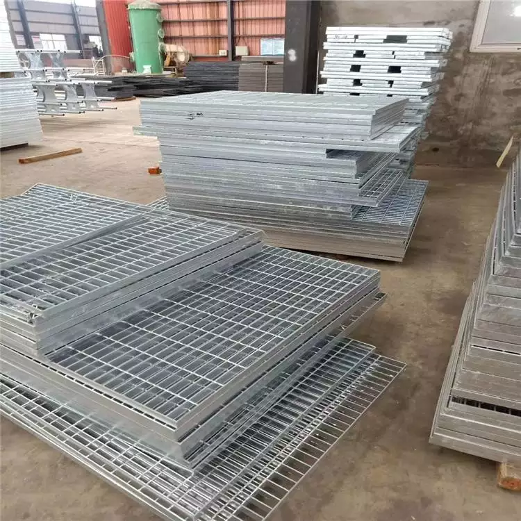 上海钢格栅 钢格栅板批发 踏步板理论重量表