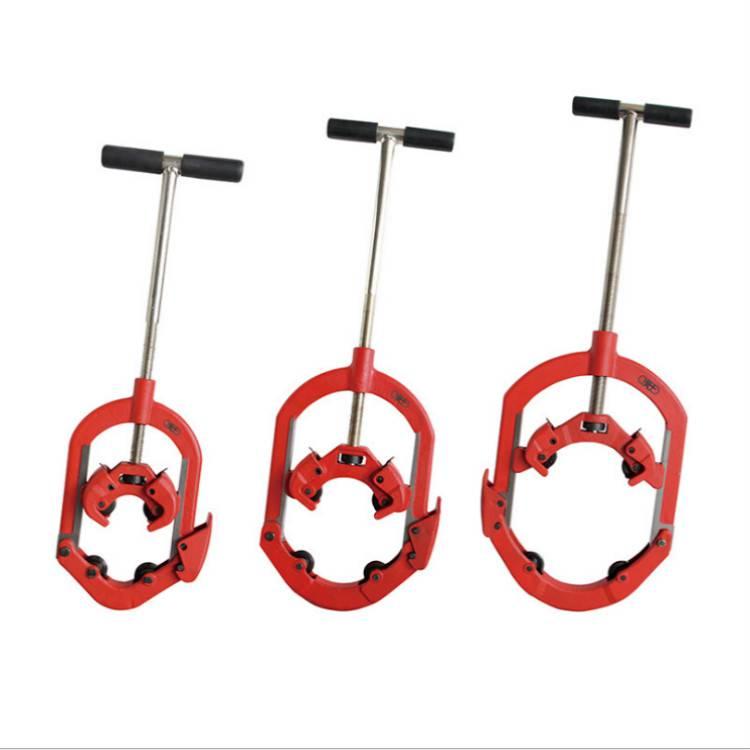 H4S铰接式割刀 50-100手动管件割刀 手动割管器 虎王管子割刀