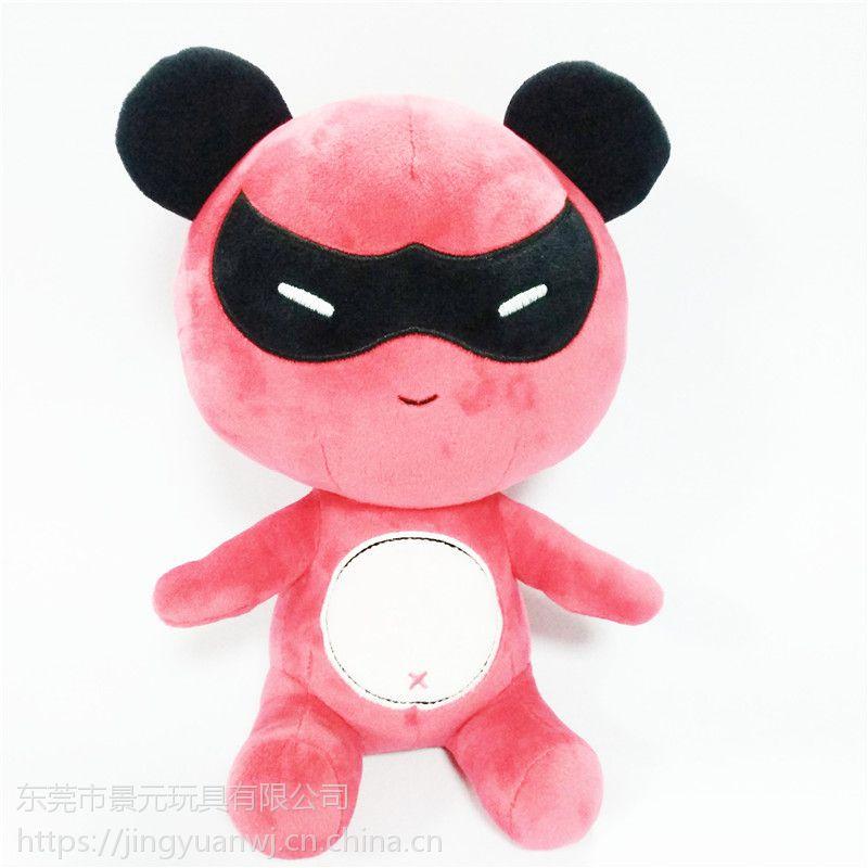可爱卡通动漫公仔毛绒玩具熊熊 来图专业设计生产 布艺娃娃贴牌加工LOGO