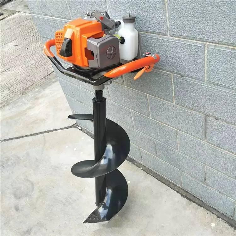 电线杆钻洞机 电缆大直径挖坑机 小型手提式打孔机