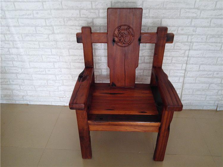船木家具船舵主人椅,茶台主人位,办公椅