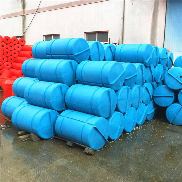 耐老化网箱浮筒 鱼排下面的塑料浮桶价格