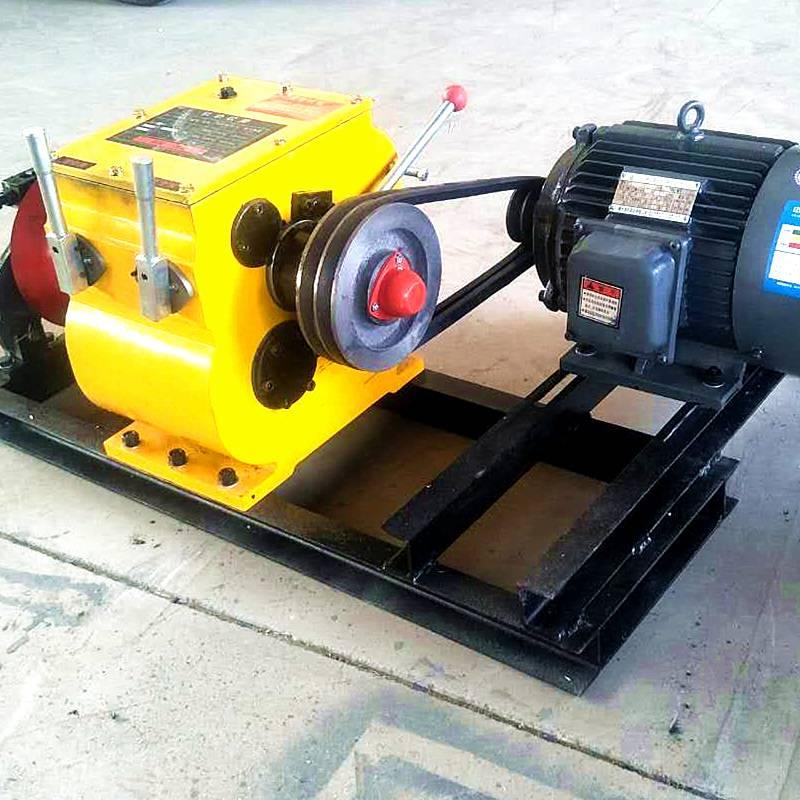 拉电杆机动绞磨 拉木材柴油绞磨机 洪涛包邮 保修 货到付款