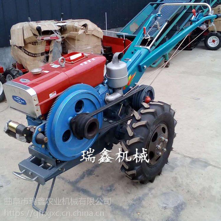 高品质手扶旋耕机 12马力手扶拖拉机 水旱两用耕地机
