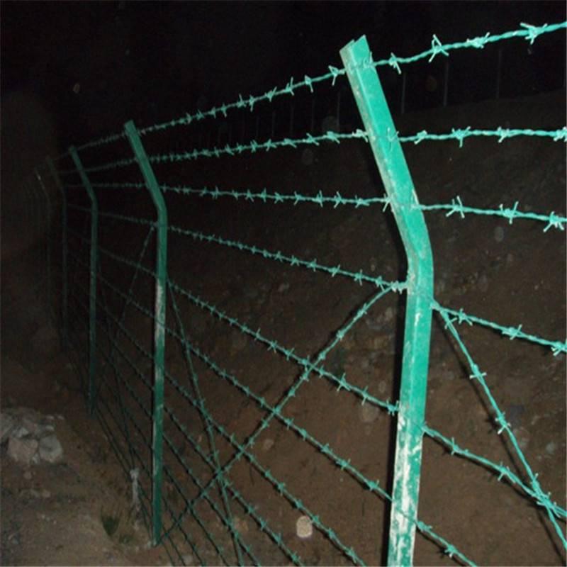 电镀刺绳厂家 刀片刺绳圈径 铁丝网规格