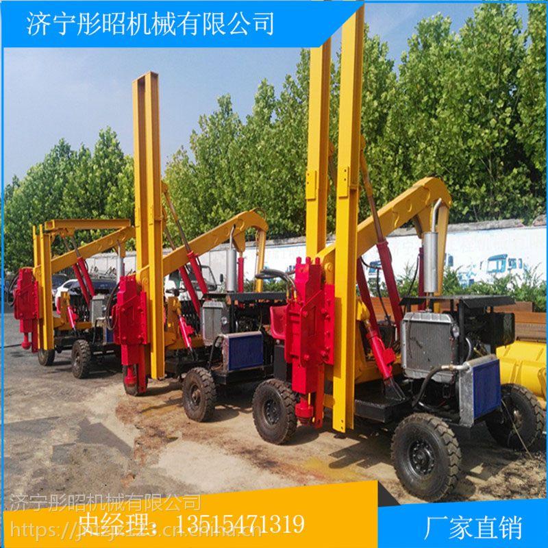 四川蓝海公路打桩机液压打桩机按装置方式分类