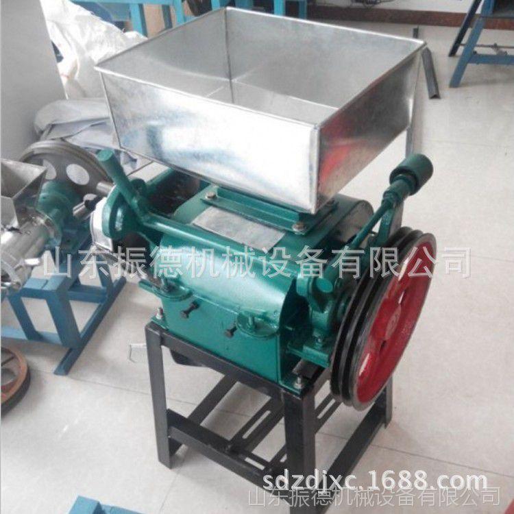 电动多功能破瓣机 花生米破碎机 振德供应 粮食加工设备