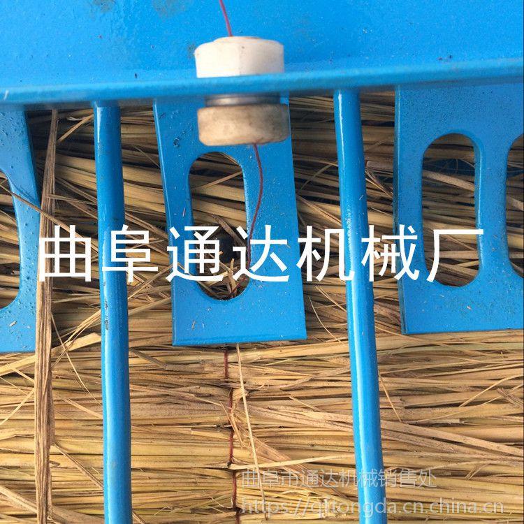 批发 自动匀草编织机 干湿麦秸秆稻草草帘机 通达