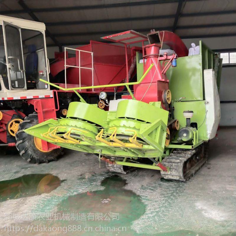 自走式玉米秸秆青储机 农作物秸秆回收机