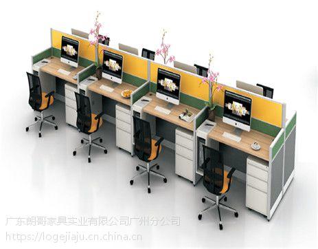 朗哥家具 职员桌 办公卡位 屏风办公桌 办公家具厂家直销37