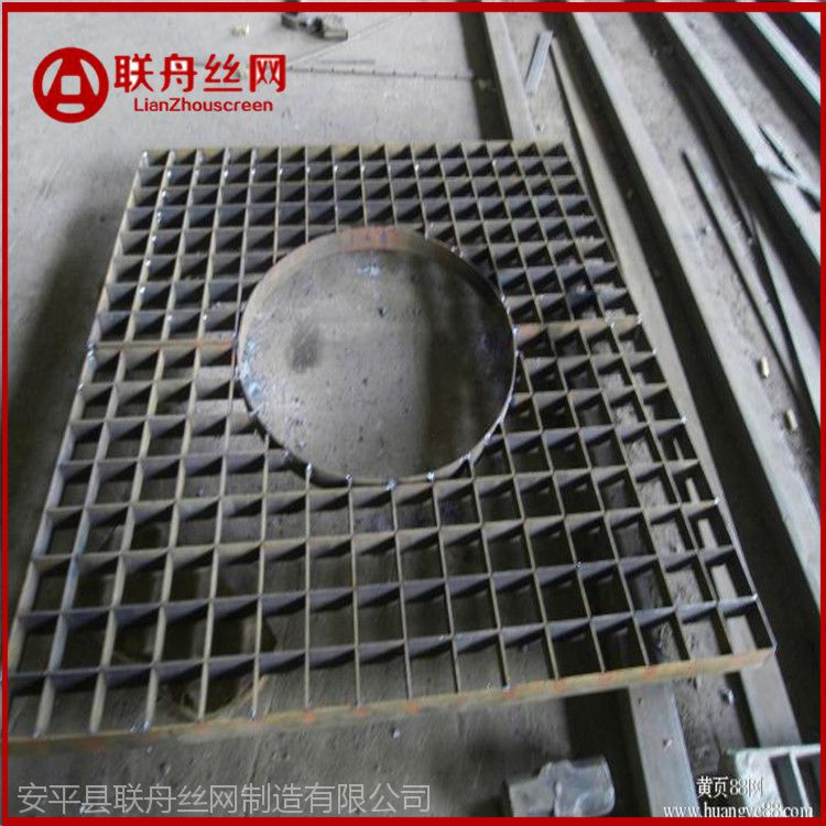 优惠销售镀锌钢格栅盖板 重型钢格栅制作厂家