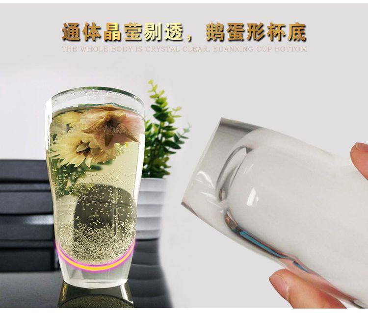 液态硅胶制品丨高透明硅胶水杯丨商务家用硅胶水杯套装