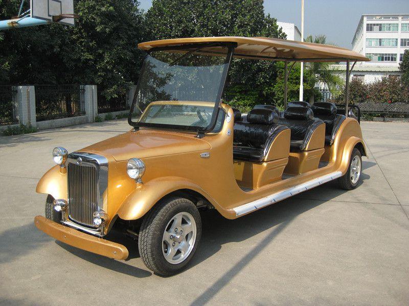 凯驰8座电动老爷车、电动看房车、酒店迎宾车