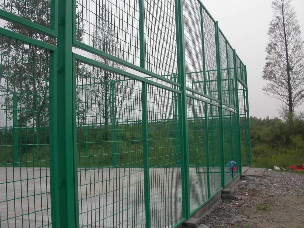 湛江工地临时防护网供应 大量双边丝护栏网现货 湛江园林围栏网安装
