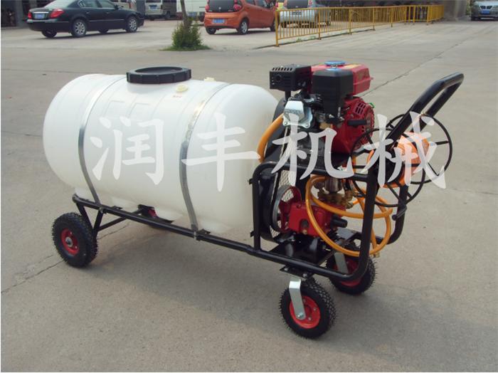 动力喷雾机高射程 手推车式杀虫打药机润丰