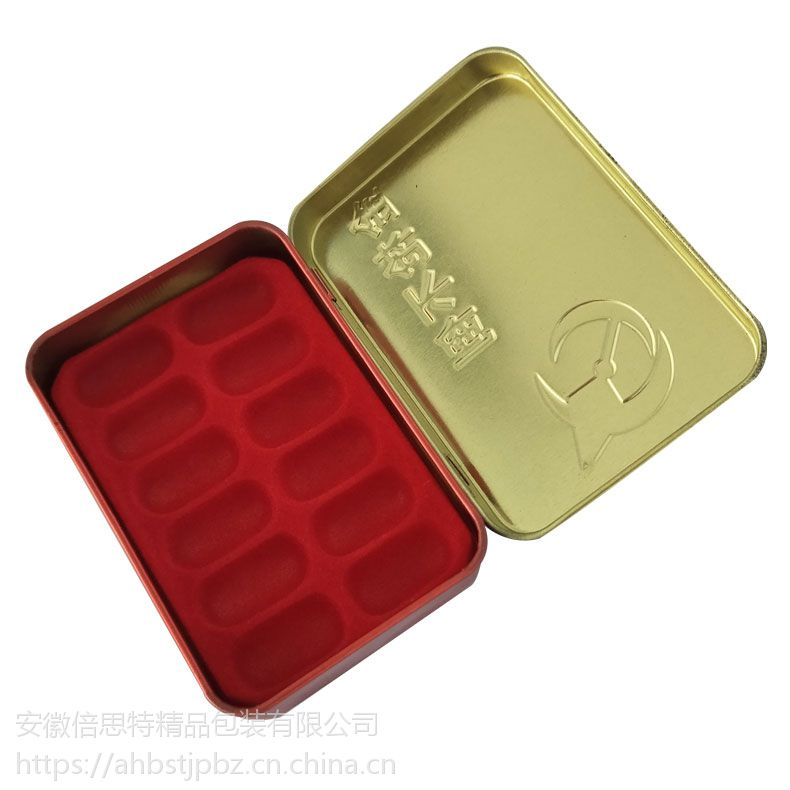 伟哥铁盒 胶囊铁盒 翻盖包装盒专业定制