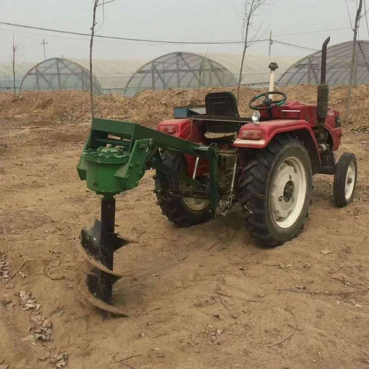 旱地打洞挖坑机 润丰 葡萄栽桩用钻眼机价格