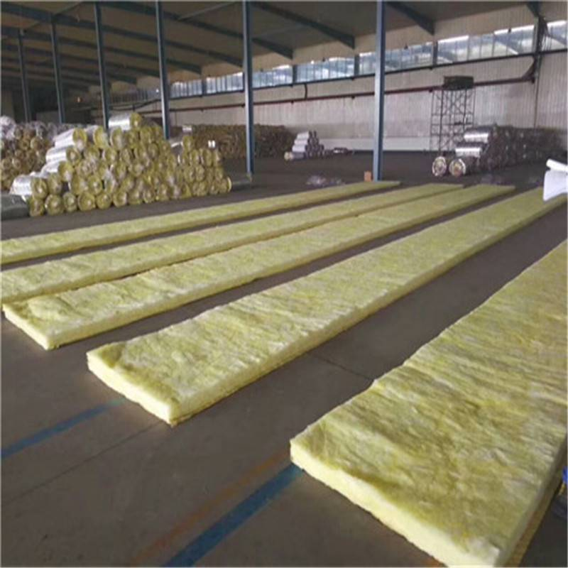 厂家直销吸音隔音玻璃棉卷毡 墙体保温玻璃棉管