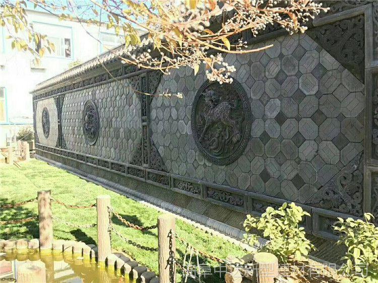 景观工程艺术墙面砖,仿古青砖, 水泥仿古砖雕厂家专业定制