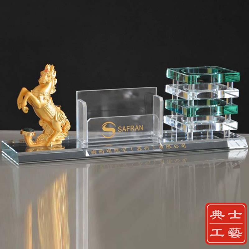 杭州市厂家供应企业推广水晶纪念品,送给客户的水晶小礼品,实用水晶办公小摆件定做