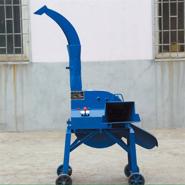 大型青贮铡草机 移动式揉搓铡草机 安徽玉米杆揉丝机