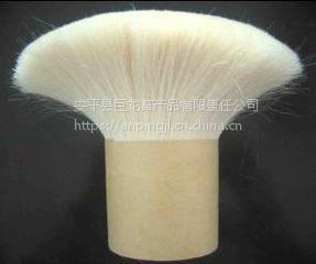 厂家直供优质山羊毛,毛笔用双齐山羊毛,制刷羊毛