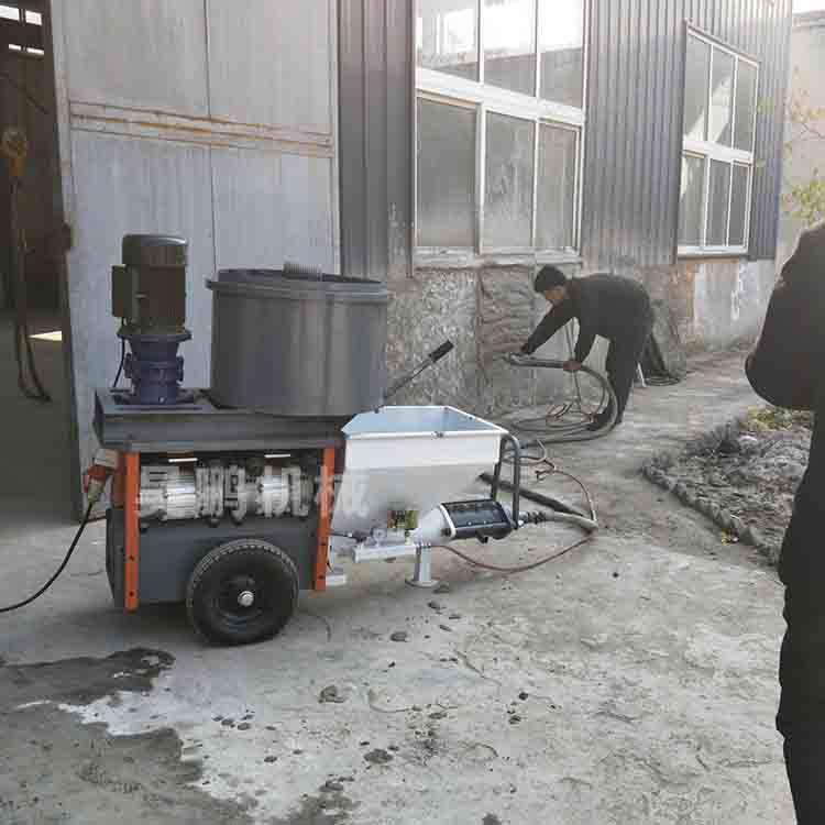 自动化系统砂浆喷涂机厂家提供