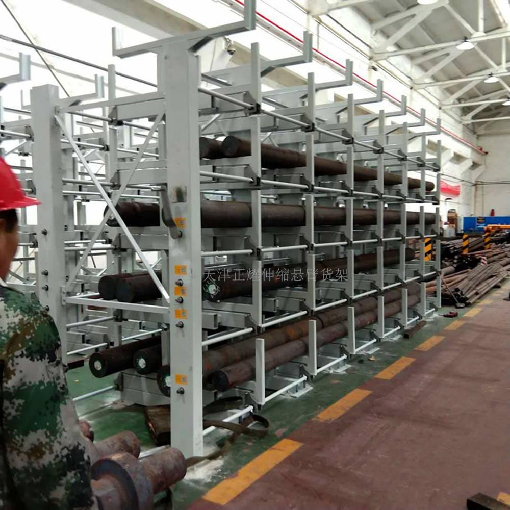 伸缩悬臂式货架 重型产品介绍 成都立体货架仓库