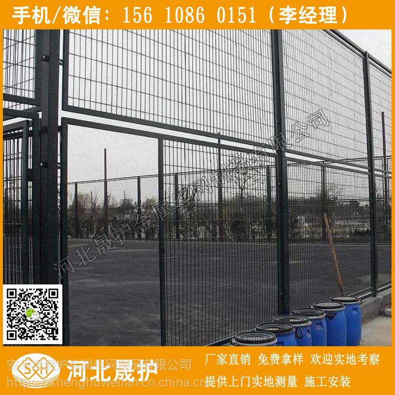 武汉体育场围网报价/襄樊工业用地铁丝隔离栅/资阳山坡护栏围网 来图加工