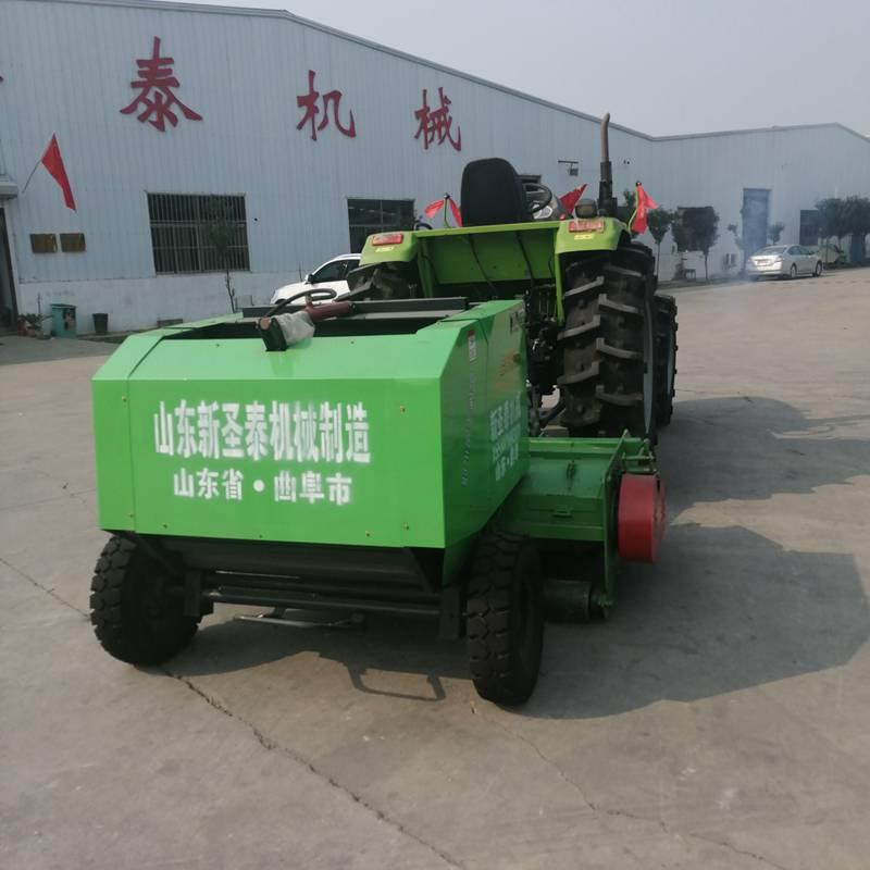 玉米秸秆粉碎回收放心省心 黑龙江新型玉米秸秆粉碎打捆机