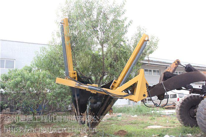 移树机价格 装载机移树机 HCN屈恩机具滑移挖树机厂家