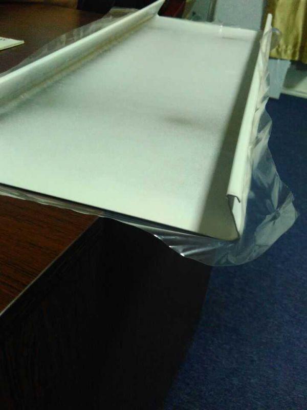 厂家定制工装铝合金条板 加油站防风铝条扣天花