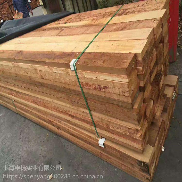 进口加拿大红雪松 红雪松花架 .木方 直销供应