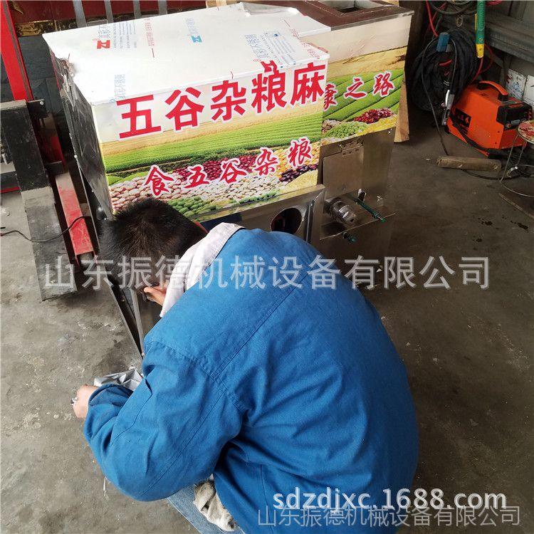 厂家定制冰糖玉米大米膨化机暗仓小型食品膨化机七用花型膨化机