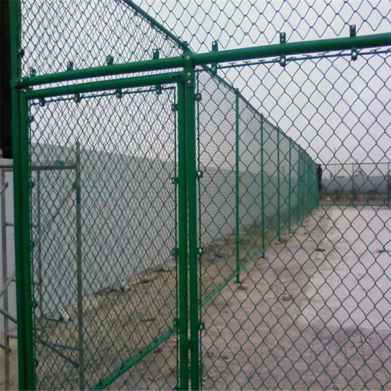 虎园防护网 建筑物护栏网 球场勾花网定制