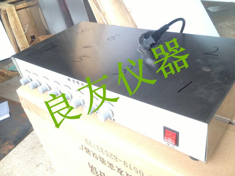 供应金坛良友DJ-8便携式磁力搅拌器 多头磁力搅拌器 多工位磁力搅拌器