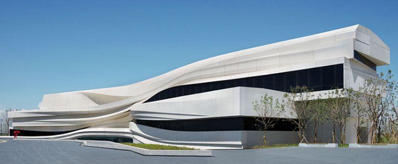 上一个 下一个>    由waa未觉建筑事务所设计的银川当代艺术美术馆图片
