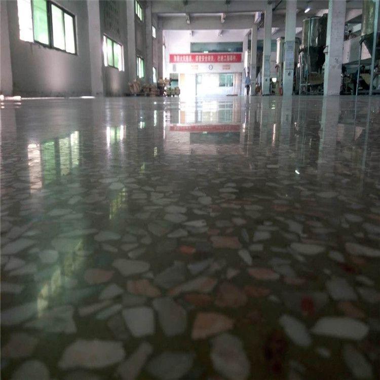 东莞新旧水磨石起灰处理-固化翻新