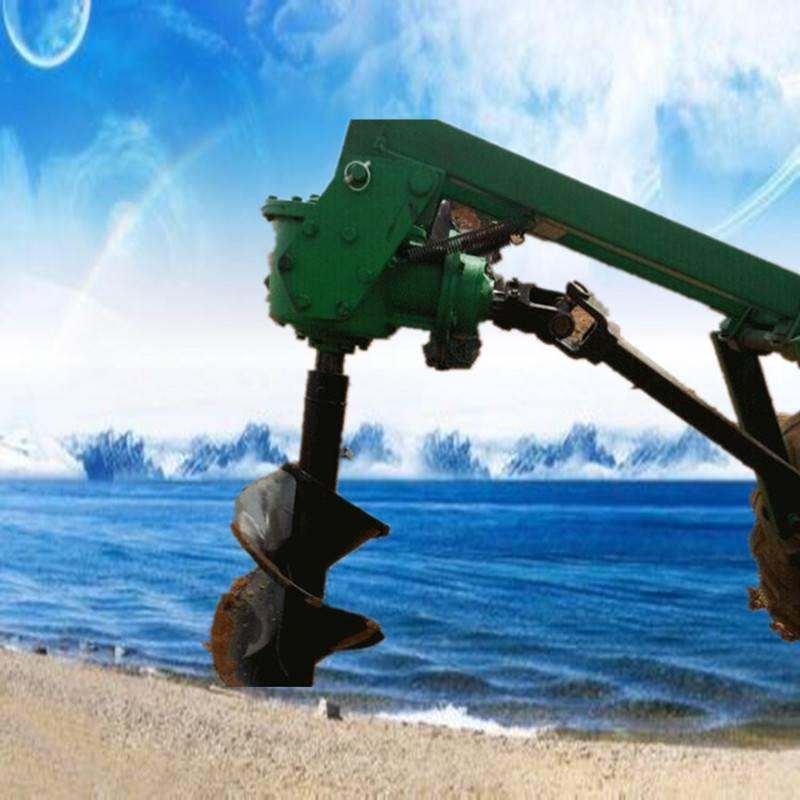 辽宁手推带轮可移动植树挖坑机 电线杆打眼机 大棚埋桩钻穴机价格