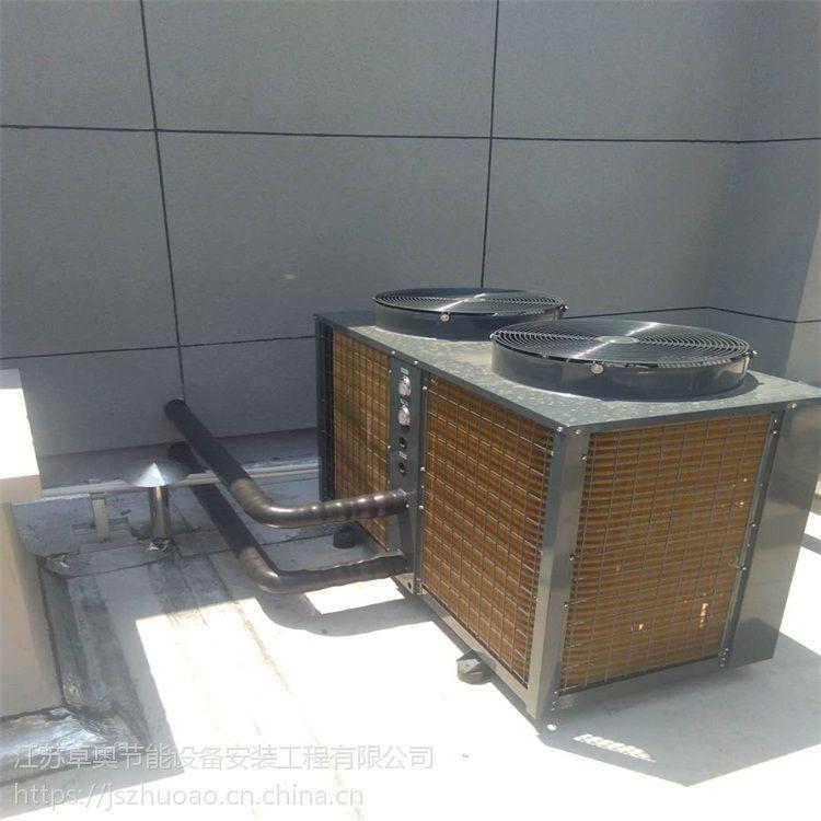 泰州西客运站15吨太阳能热水工程6台5匹奥栋空气能主机