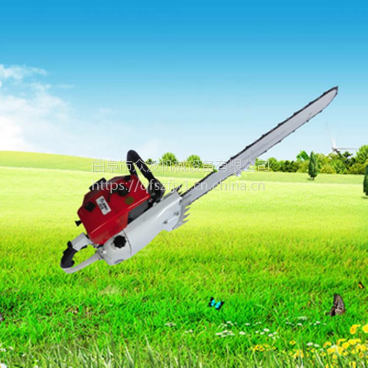 锯齿式起树机 新款果园苗木断根机 合金链条式起树机价格