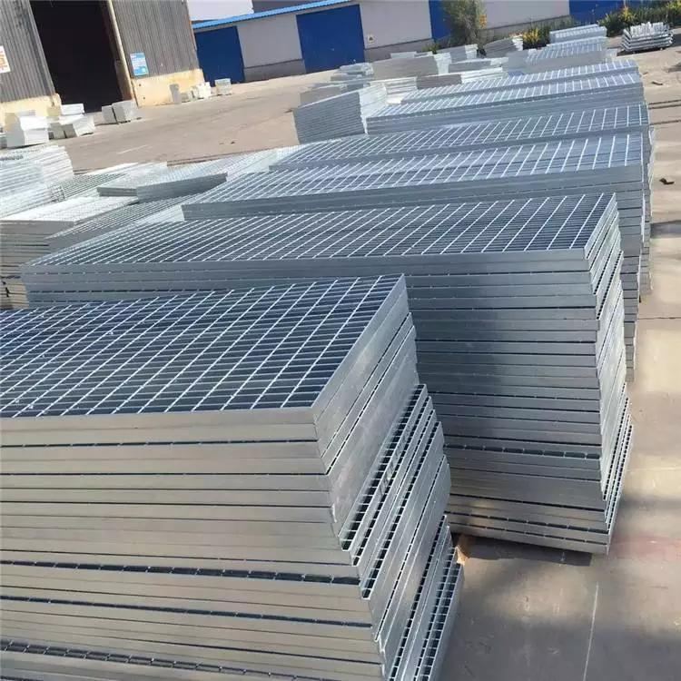 热镀锌钢格栅 钢爬梯踏步板a2 钢格栅施工方案