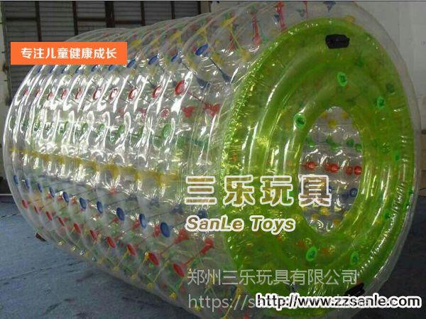 湖南益阳水上滚筒厂家销售搭配充气水池效果更好