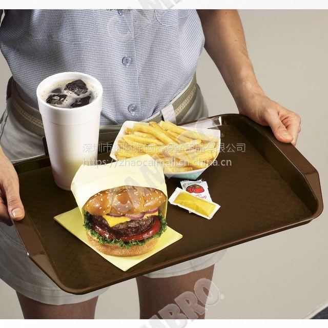 带把手长方形快餐托盘,PP食品材料,CAMBRO 1217FFH