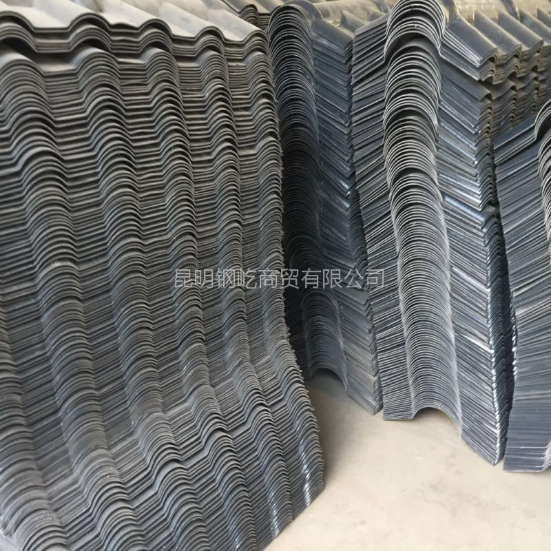 贵州六盘水树脂瓦批发价格/材质FRP/规格2.5x800型